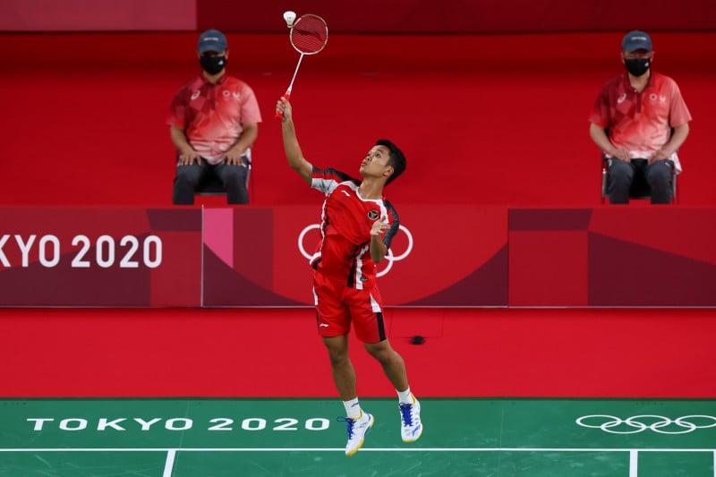 Kandaskan Rusia, Anthony Ginting Catat Sejarah Baru di Olimpiade