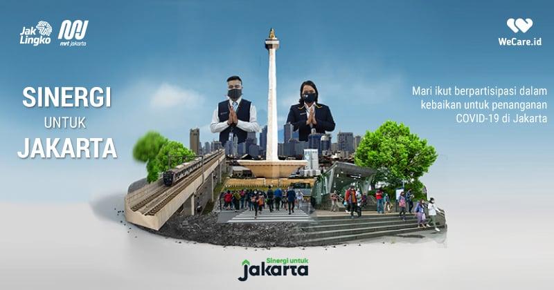 Dorong Penanganan Covid-19, MRT Jakarta Galang Donasi Oksigen