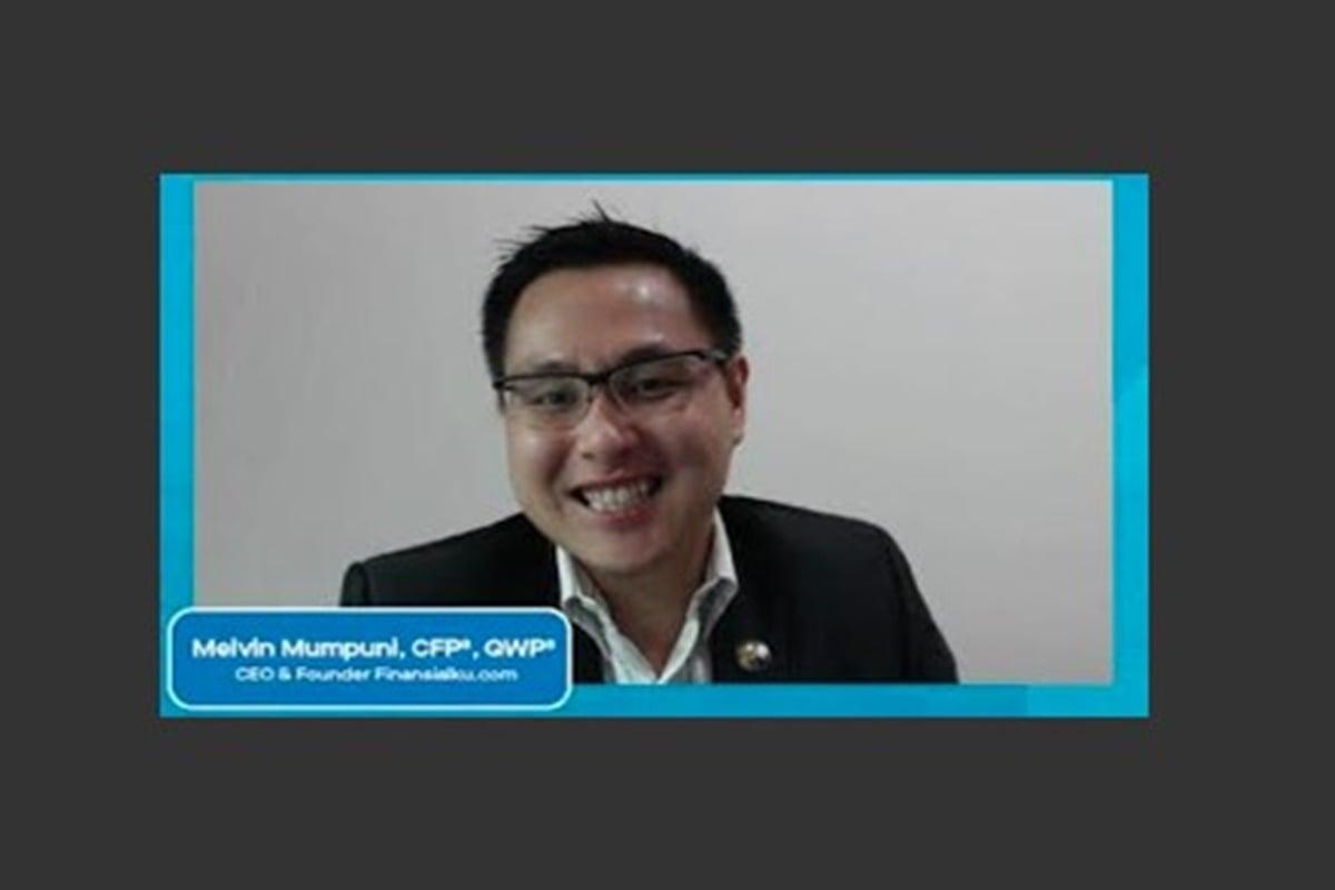 Melvin Mumpuni Bagikan Ilmu Menarik di Kelas Virtual FinanSiap