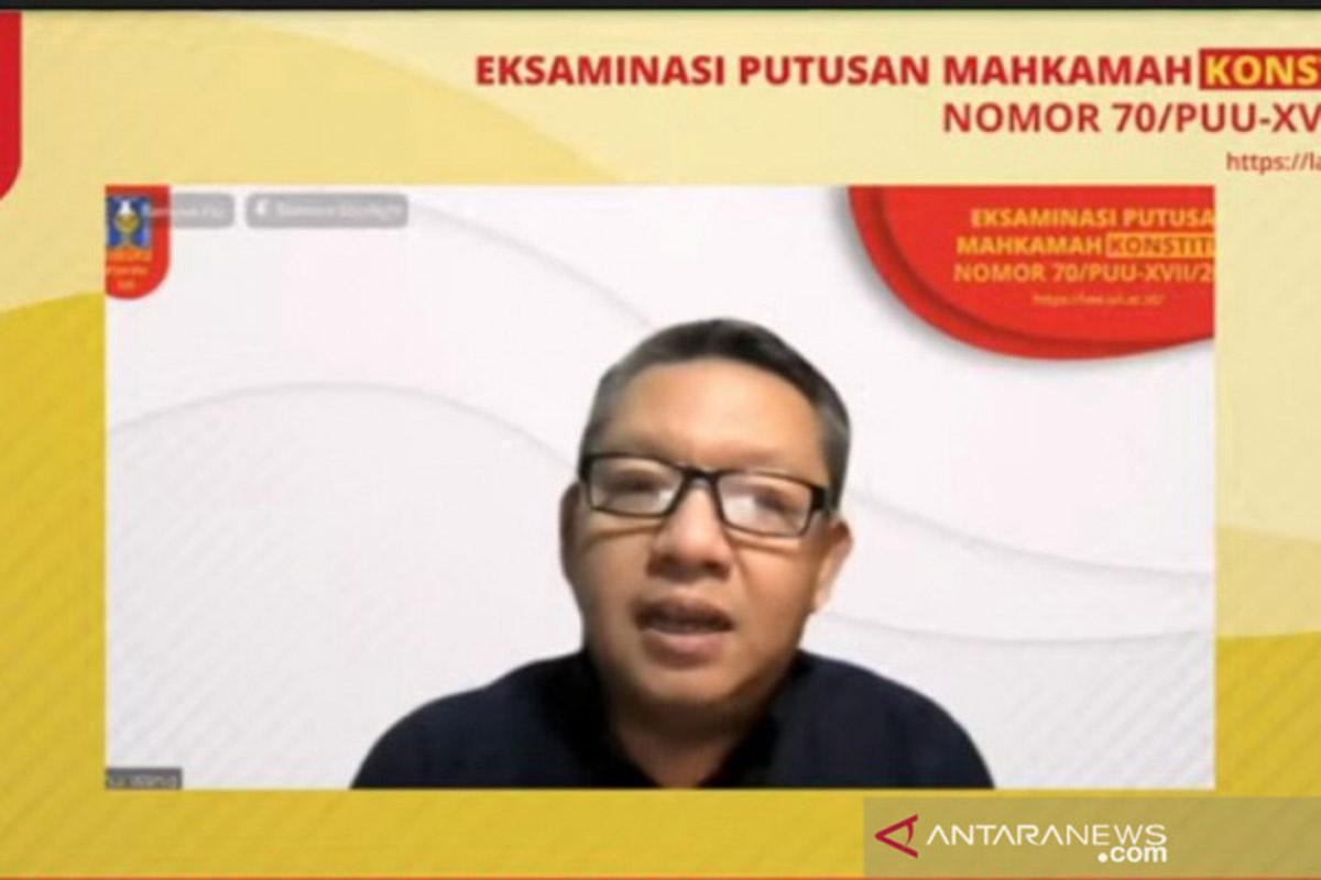 Rektor UII Sebut Kaderisasi Koruptor di Indonesia Lebih Cepat