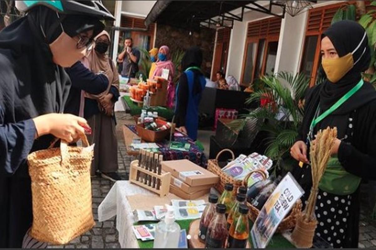 Seru Banget Kegiatan Komunitas Pasar Sehat Semarang