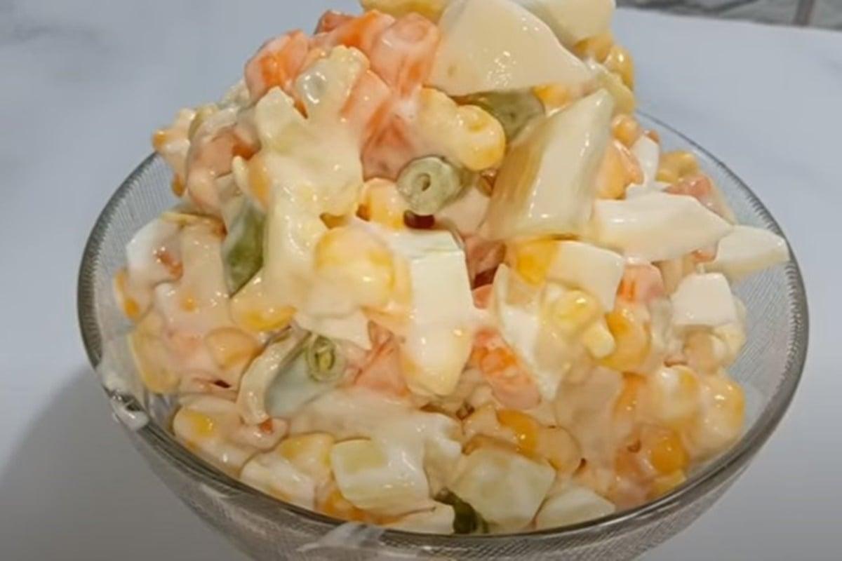 Resep Salad Jagung Wortel, Segar Banget Disantap Siang Hari
