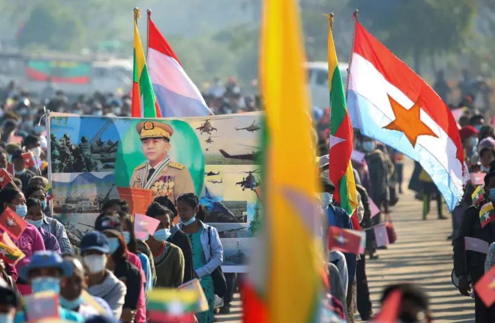 Usai Lantik Diri Sendiri, Jenderal Myanmar Embuskan Angin Surga