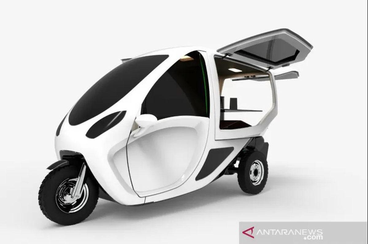 Kemenperin Rancang Kendaraan Becak Listrik