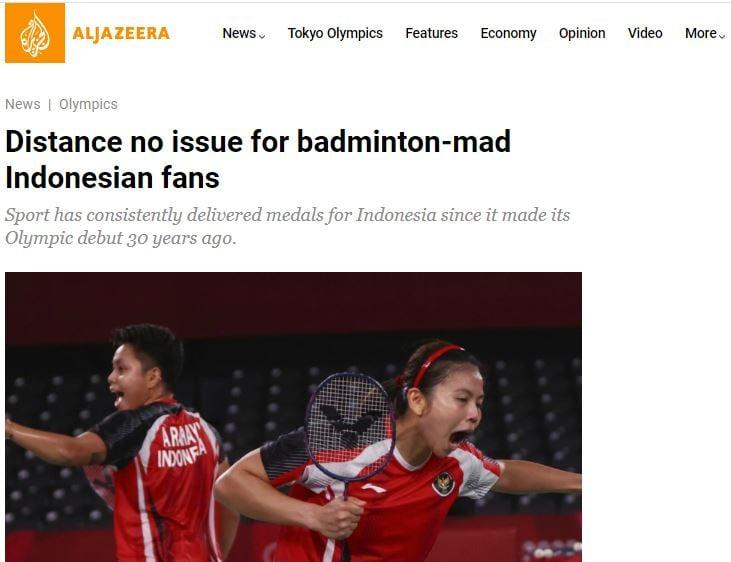 Media Timur Tengah Sorot Ledakan Fans Bulu Tangkis di Indonesia