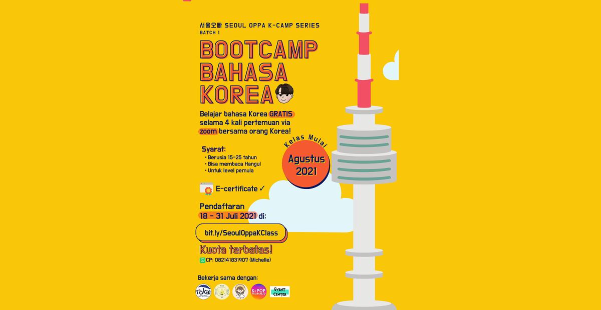Belajar Bahasa Korea Bareng YouTuber di Korean Camp