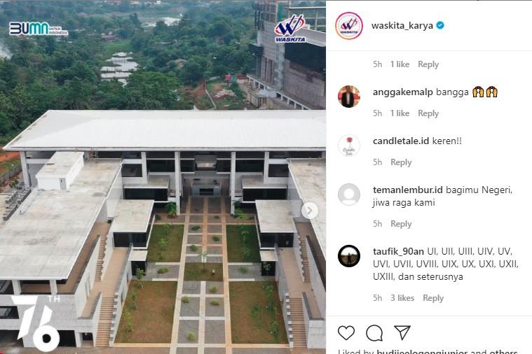 Wow! Tengah Dibangun Waskita Karya, Kerennya Kampus UIII Depok