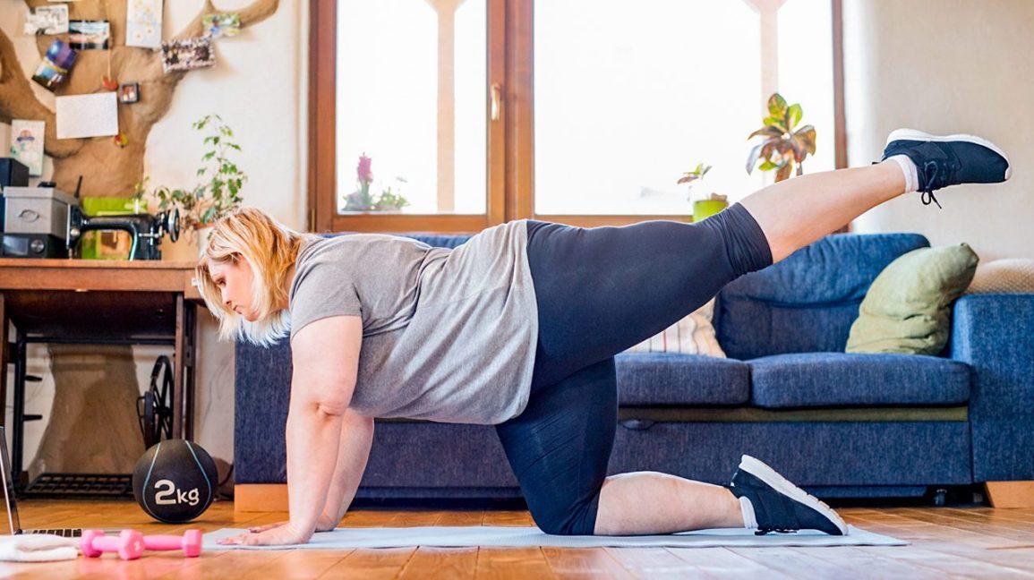 Raih Bokong Montok Tanpa Obat Lewat Latihan di Rumah, Cukup 1 Jam