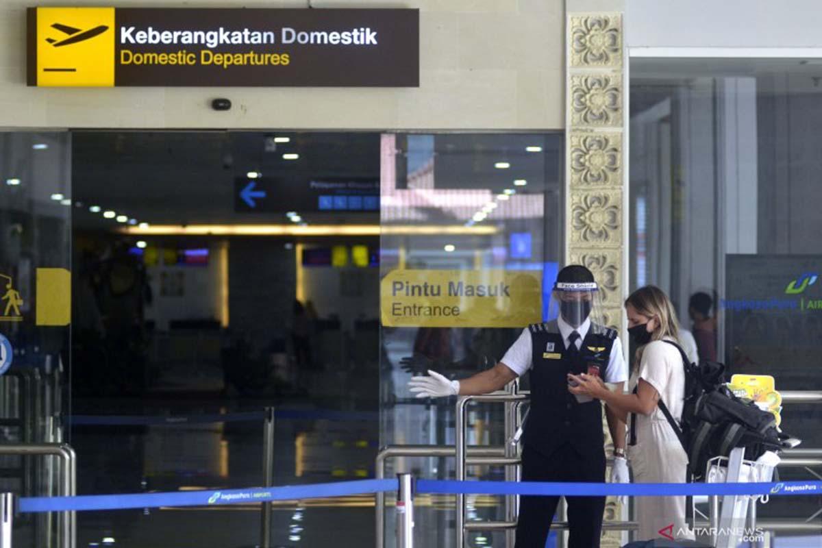 Selama Juli, Jumlah Penumpang di Bandara Ngurah Rai Bali Anjlok