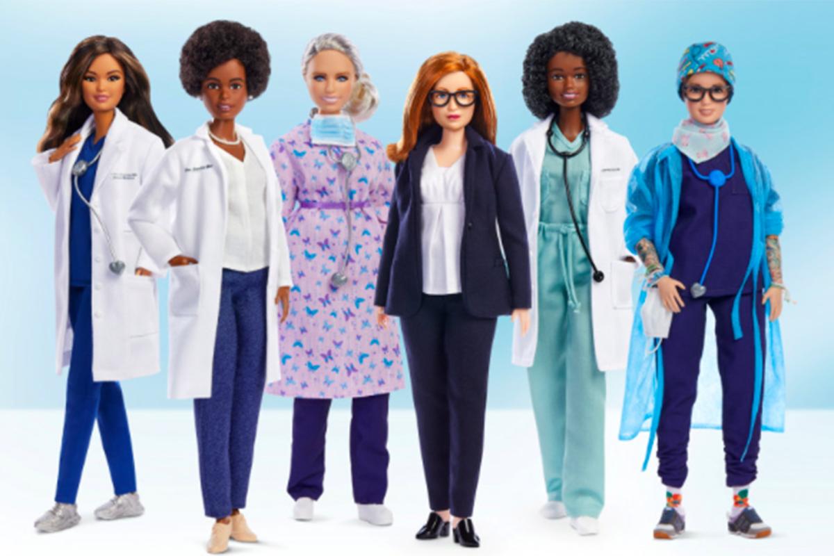Wow, Barbie Bikin Boneka Tokoh Pembuat Vaksin AstraZeneca!