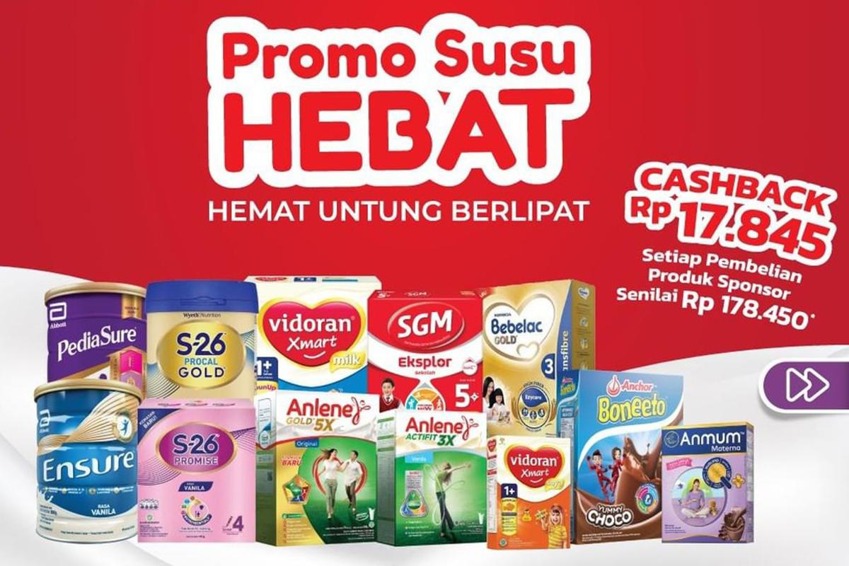 Katalog Promo Alfamart Terbaru, Banyak Produk Susu Anak Murah!