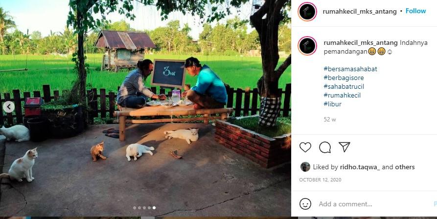 Tak Sengaja, Haswadi Buat Kafe Berkonsep Pedesaan di Tengah Kota