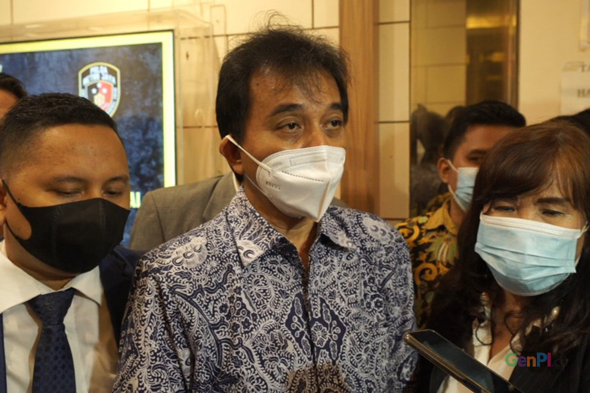 Roy Suryo. Foto: Annisa Nur Jannah/GenPI.co