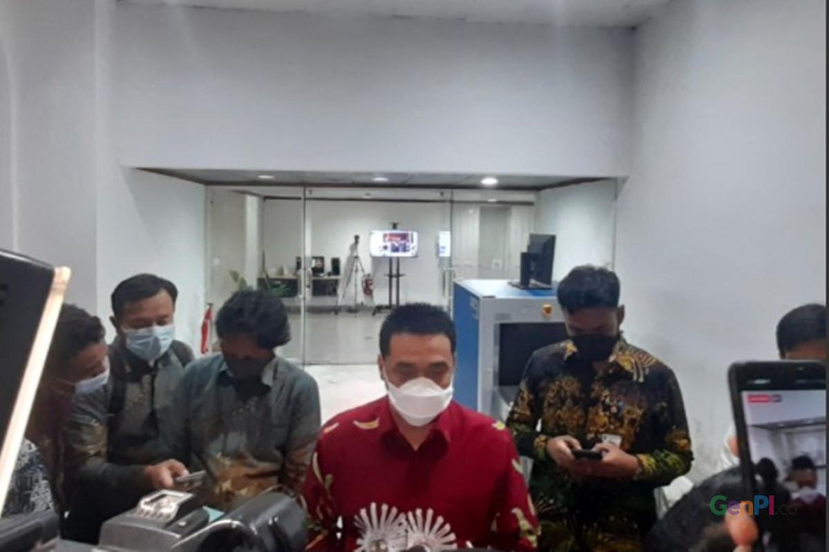 Wagub DKI Jakarta Ahmad Riza Patria memberikan kabar bahagia (foto: Andri Bagus/GenPI.co)