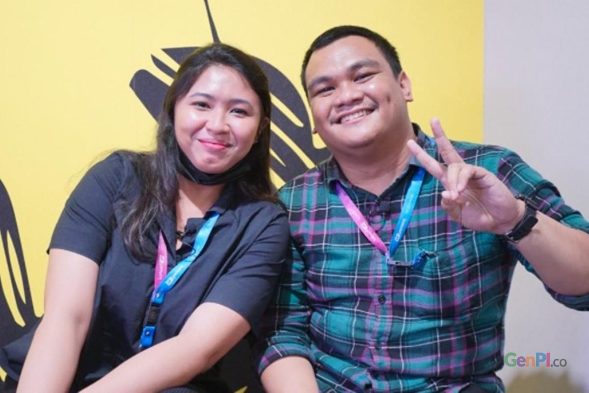 Founder VCGamers Ricky Noch Sambur (kanan) (foto: Sapta Priwarsana/GenPI.co)