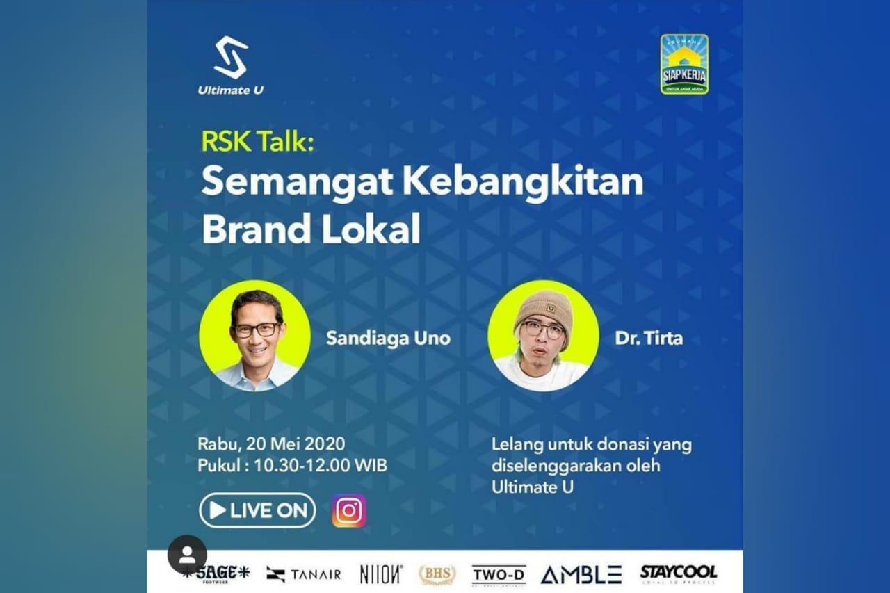 RSK Talk: Semangat Kebangkitan Brand Lokal