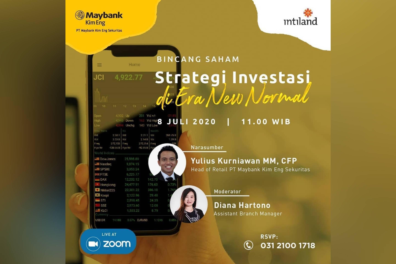 Bincang Saham: Strategi Investasi di Era New Normal