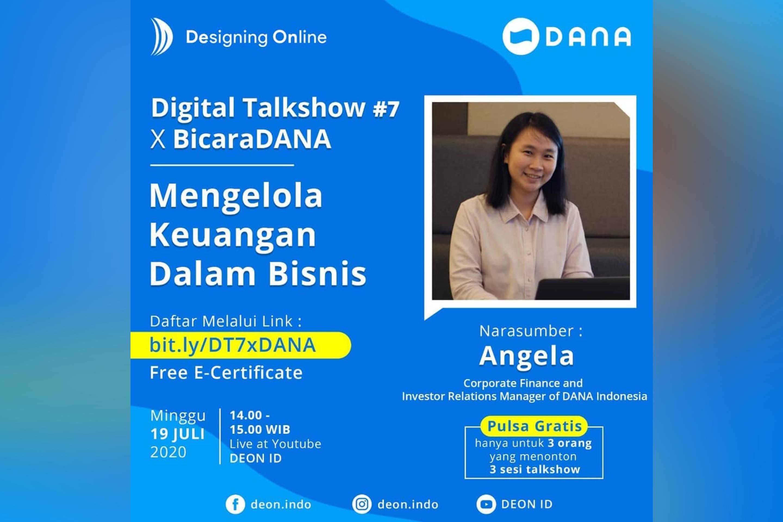 Digital Talkshow: Mengelola Keuangan Dalam Bisnis