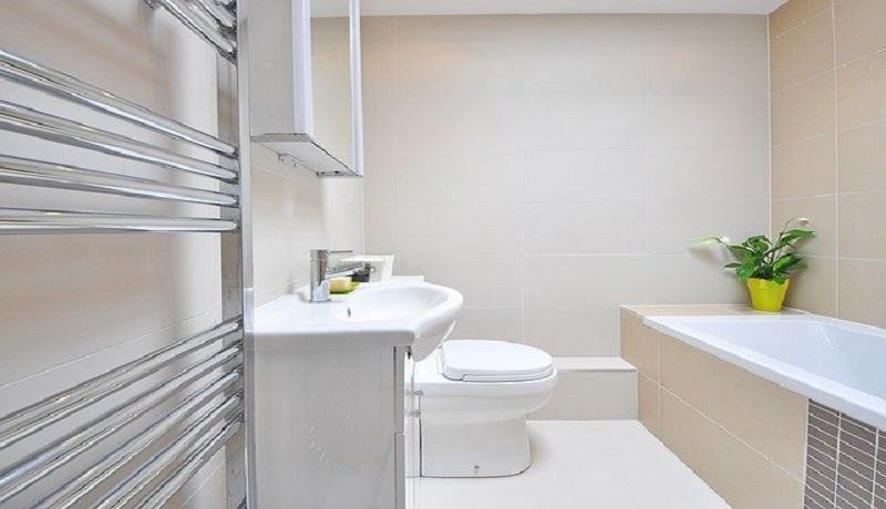 Kamar mandi minimalis. (Pixabay)