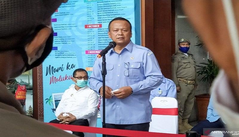 Menteri Kelautan dan Perikanan Edhy Prabowo. Foto: Antara