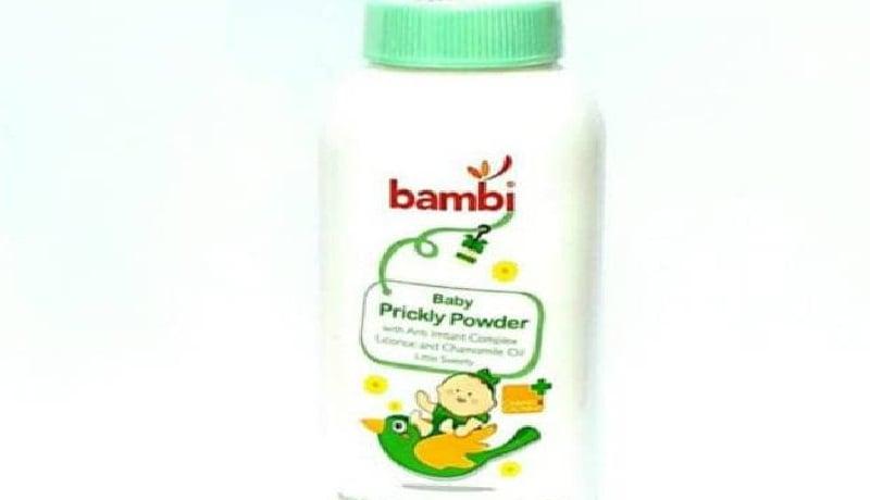 Caption: Bambi Baby Prickly Powder. Foto: bambi.co.id