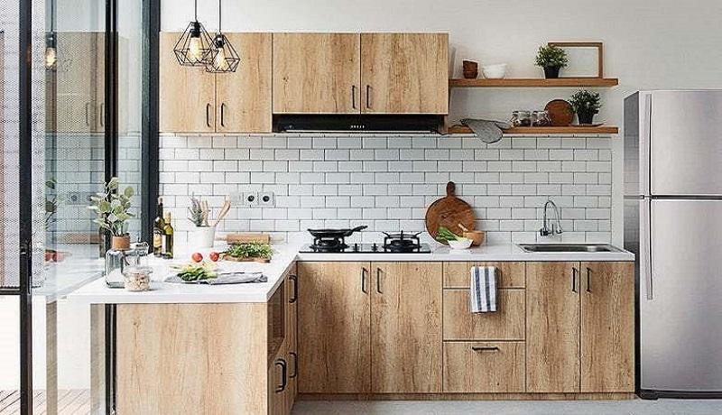 Ilustrasi menata dapur kecil. (Dekoruma)