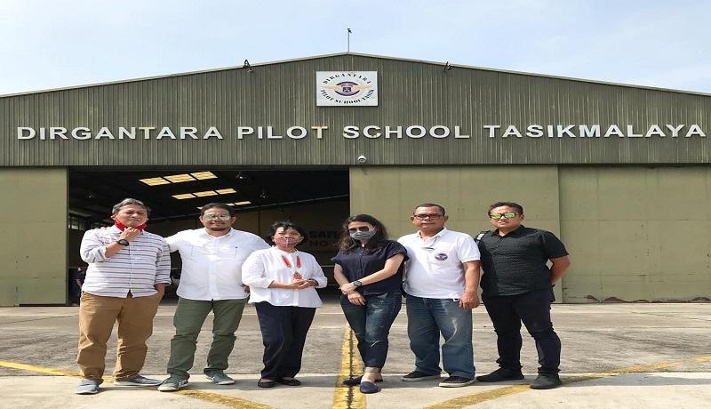 Sekolah Dirgantara Pilot School Tasikmalaya (DPST). Foto: GenPI.co