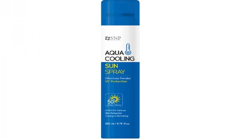SNP Aqua Cooling Sun Spray. Foto: Sociolla.