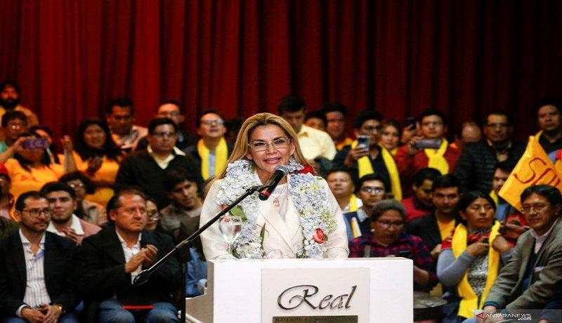 Presiden Bolivia Jeanine Anez. Foto: Antara