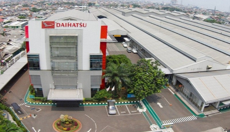 Pabrik Daihatsu. Foto: Antara