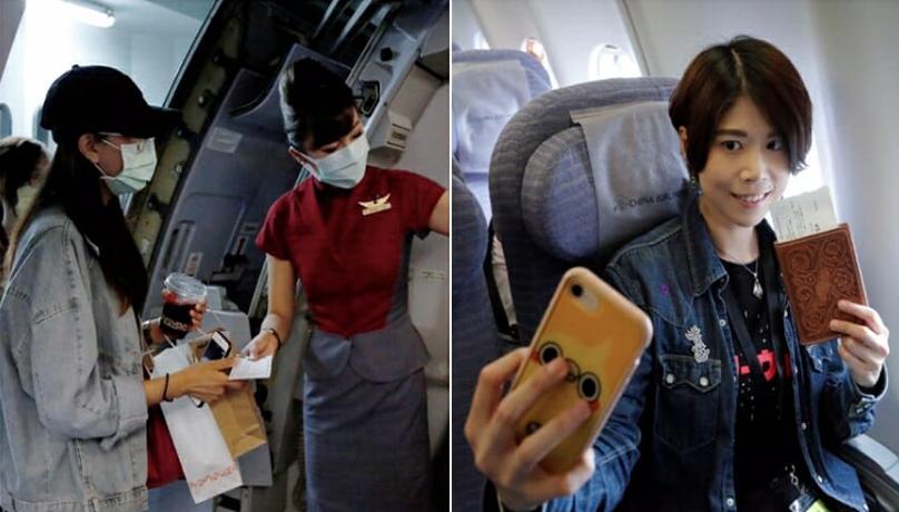 Penerbangan palsu naik pesawat. Foto: World of Buzz/reuter