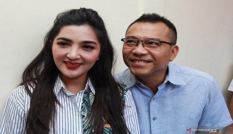 Anang Hermansyah dan Ashanty. Foto: Antara