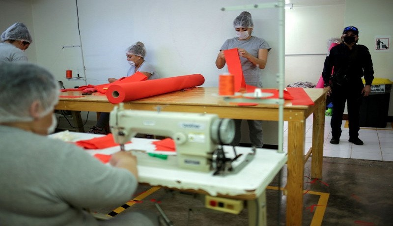Virus Corona Tak Kendali, AS Bebaskan 8.000 Tahanan