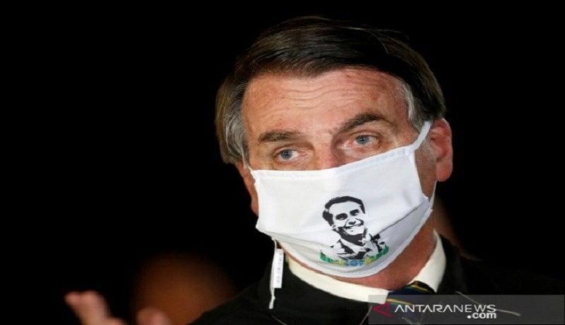 Covid-19 Masih Betah di Tubuh Presiden Brasil Bolsonaro