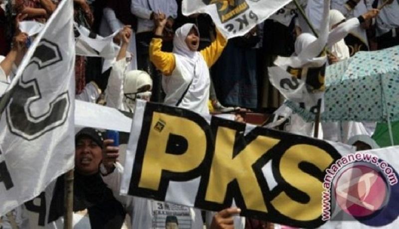 Kampanye PKS. Foto: Antara