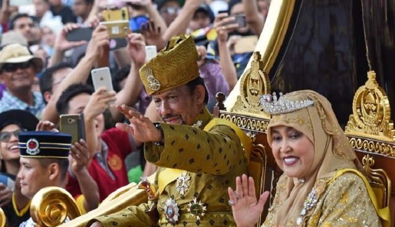 Sultan Brunei Darussalam, Hassanal Bolkiah. Foto: Antara