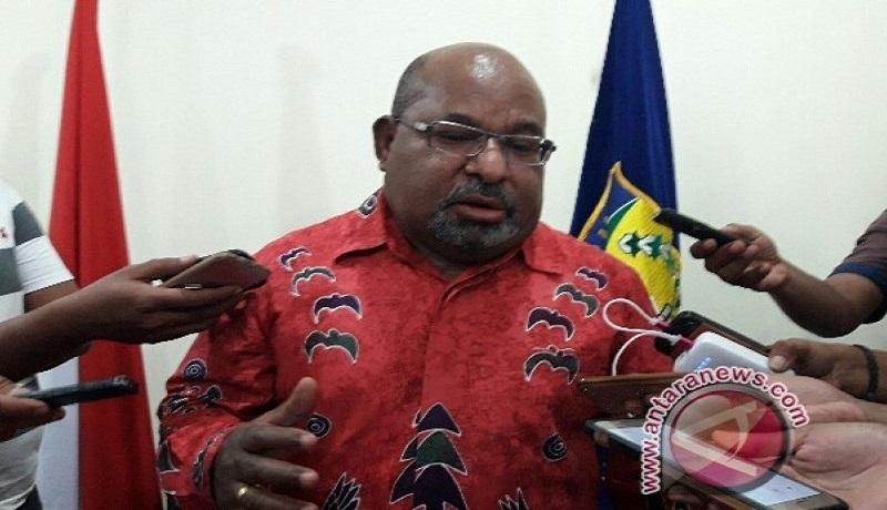 Gubernur Papua, Lukas Enembe. Foto: Antara