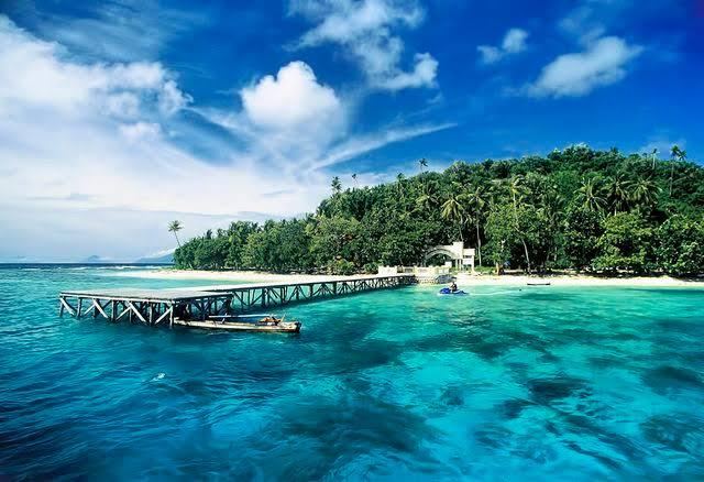 Pulau Guraici yang eksotis di Halmahera Selatan, maluku Utara. (Foto: Info Jakarta)