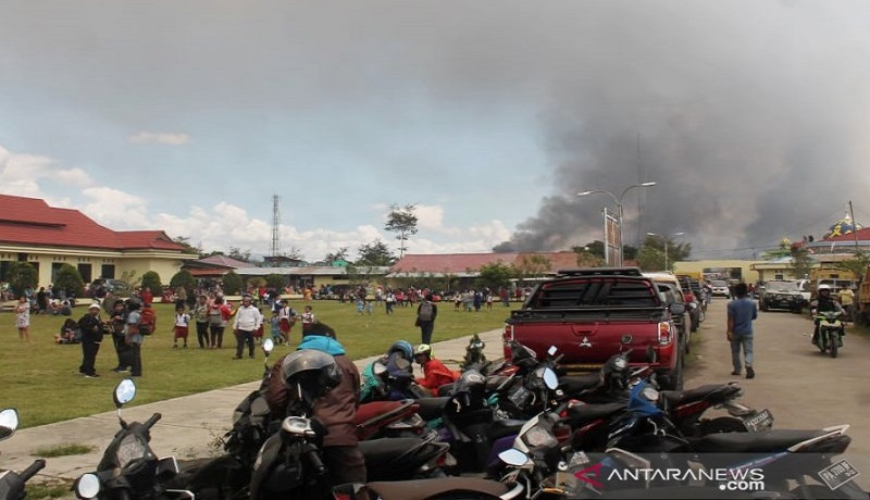 Kerusuhan di Wamena layanan internet sempat diblokir. Foto: Antara