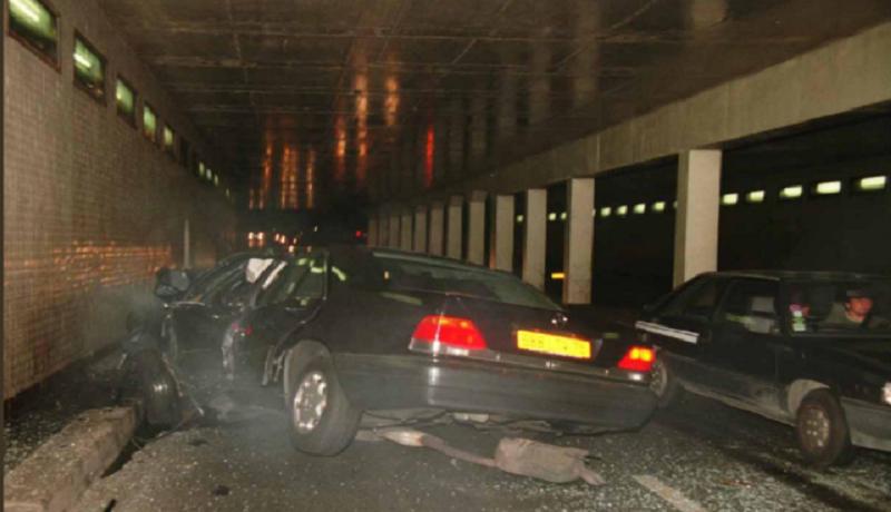 Terowongan maut, lokasi kecelakaan Putri Diana di Paris. (ist)