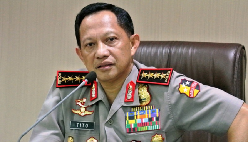 Kapolri Jenderal Tito Karnavian. Foto: Antara