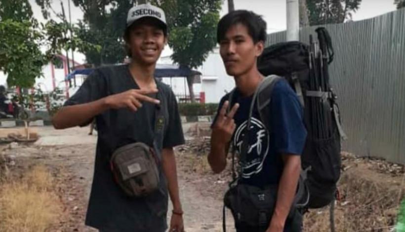 Dua pendaki, Fikri dan Jamhari hilang kontak di Gunung Dempo, Sumatera Selatan. Hingga kini keduanya belum ditemukan (Foto : Instagram Vedreno)