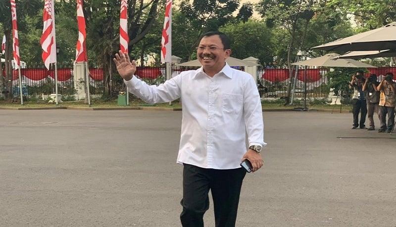 Dokter Terawan Agus Putranto di Istana Kepresidenan. Foto: Antara