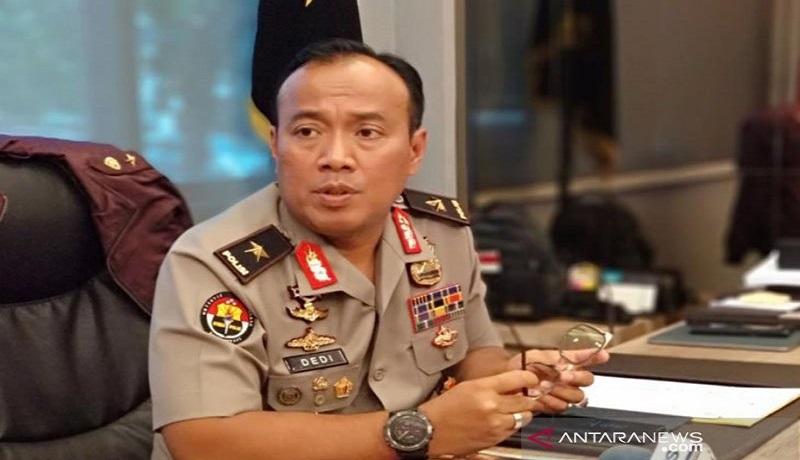 Kepala Biro Penerangan Masyarakat Polri Brigjen Pol Dedi Prasetyo. Foto: Antara