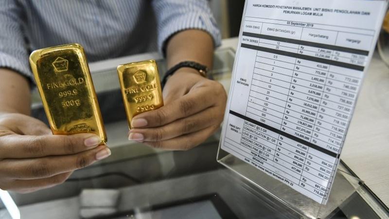 Harga Emas 24 Karat Antam Hari ini, Rincian Perdagangan 6 Juli