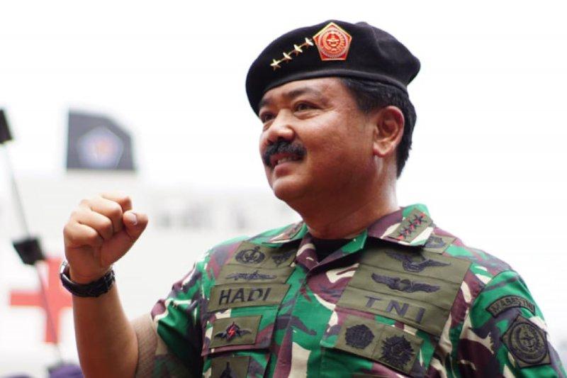 Panglima TNI marsekal Hadi Tjahjanto. (Foto: Antaranews)