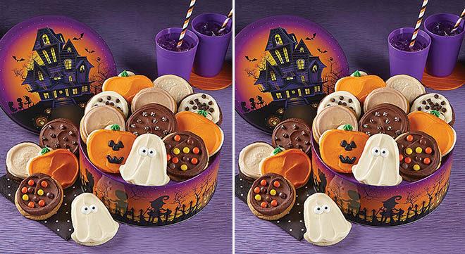 Kue cokelat dengan nuansa Halloween yang dibuat sendiri di rumah. (Foto: freestuffinder.com)