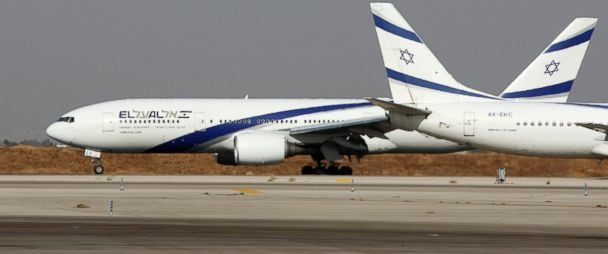 Jet dari Tel Aviv, Israel tertangkap basah mendarat di Bandara Riyadh, Arab Saudi. Padahal keduanya tak punya hubungan diplomatik. Mencurigakan (Foto : ABC News)