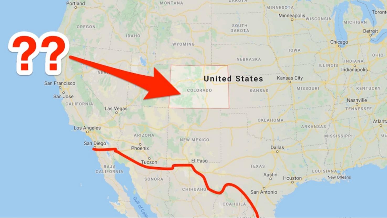 Meksiko dan New Meksiko padahal sangat berbeda dan Presiden AS Donald Trump tak mengetahui perbedaannya, guys! (Foto : Business Insider)