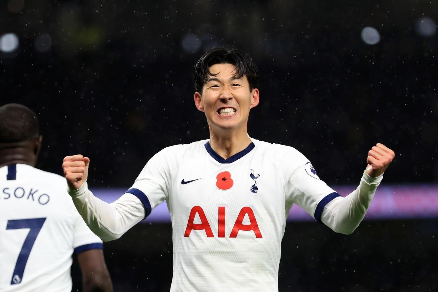Suporter Liverpool mendorng Hon Seung-Min diambil daari Tottenham Hotspur. (Foto: sbnation.com)